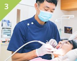 早期発見・早期治療をモットーにできるだけ歯を残す治療