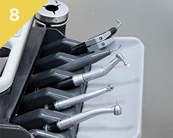使用する器具も清潔に当院の滅菌対策